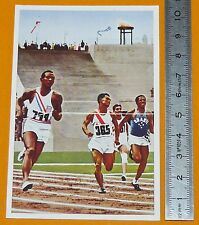 BERLIN 1936 JEUX OLYMPIQUES JESSE OWENS USA ATHLETISME 200 M OLYMPIC GAMES