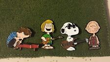 Peanuts Phish Pheanuts Set of 4 Pins not Pollock