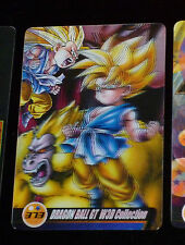 DRAGON BALL GT Z DBZ MORINAGA WAFER CARD CARDDASS PRISM CARTE 373 3D W3D JAPAN