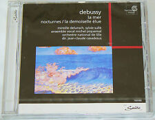 Claude Debussy: La mer; Nocturnes; La demoiselle (CD 1998 Harmonia Mundi) SEALED
