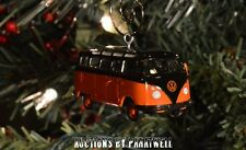 Volkswagen T2 Bus VW Samba Van 1/64th Camper Custom Christmas Ornament Bug Kombi