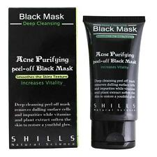 [SHILLS] Acne Purifying Blackhead Remover Peel-Off Black Charcoal Face Mask 50ml
