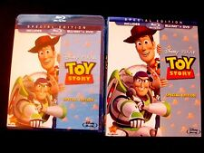 Toy Story Special Edition:Disney PIXAR (Blu-ray/DVD, 2010, 2-Disc) I Ship Faster