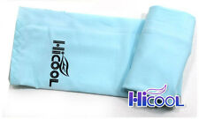 New High Cool 1Pair Arm Sleeves Cooling UV Sun Protect Golf Cycling Toshi Sky