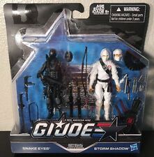 SNAKE EYES & STORM SHADOW Arashikage Clash MOC GI JOE 50th ANNIVERSARY 2016 3.75