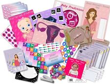 Baby Shower Party Games/10 Games Pack/Rosa/Ragazza/20 giocatori