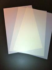 aerografia fogli per stencil A3 in pvc trasparenti