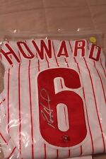 Ryan Howard Autographed Phillies Home Jersey with Certificate of Authenticity