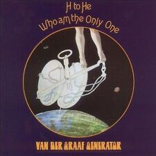 H To He Who Am I The Only One, Van Der Graaf Generator, New Original recording r