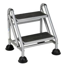 Cosco 2-Step Rolling Step Ladder Commercial Step Stool with 300lb Load Capacity