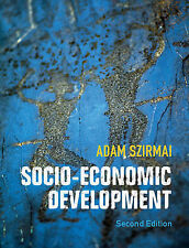 Socio-Economic Development, Szirmai, Adam, Very Good condition, Book