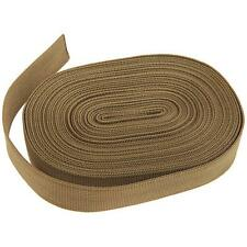 Tactical 10M Nylon Military Straps Webbing Belt Silent Sling For Rifle Tan