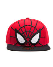 OFFICIAL MARVEL COMICS SPIDER-MAN EYES COSTUME STYLED SNAPBACK CAP (BRAND NEW)