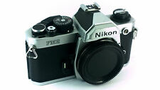 Pro Choice Nikon FM2N Silver Camera Body + Cap. Fully Tested 'EXCELLENT-' Cond.