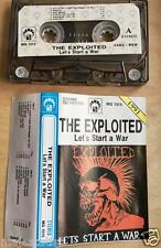 THE EXPLOITED - Let's Start A War... MC RARE 1'ST POLISH PRESS 1991