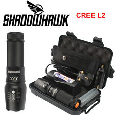 5000lm Genuine Shadowhawk X800 Tactical Flashlight LED Zoom Military Torch  COOL