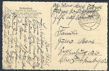 Reichenberg Feldpostkarte 17. 08. 1941 (519168)