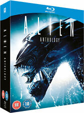 ALIEN ANTHOLOGY - 4 DISC BLU-RAY - UNCUT - LIMITED EDITION - OOP - RIDLEY SCOTT