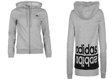 adidas Linear Tracksuit top hoody jacket Ladies size 16-18