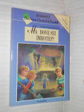 MA DOVE SEI IMHOTEP Jacques Thomas Bilstein Cartedit Pocket 1998 libro romanzo