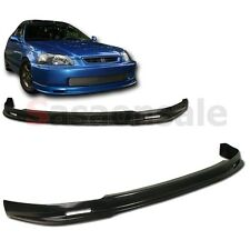 Made for 1996-1998 Honda Civic Coupe Sedan 2dr 4dr MU Style Front PU Bumper Lip