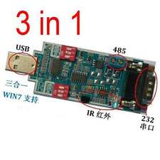 USB to Wireless IR Transceiver & USB to UART RS232 & USB to UART RS485 for win7
