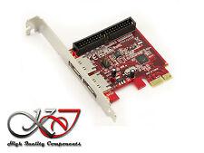 Gamme Pro - Carte PCIe IDE et eSATA 3.0 - RAID - High Low Pro - Marvell 88SE9128