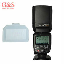 Yongnuo YN600EX-RT II Wireless Flash Speedlite TTL Slave Master+Diffuser f Canon