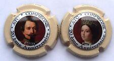 2 Capsules de Champagne Paul Lebrun Napoléon 3 et Eugénie