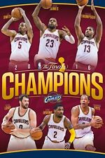 CLEVELAND CAVALIERS - 2016 NBA CHAMPIONS POSTER - 24x36 BASKETBALL 14570