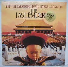Ryuichi Sakamoto David Byrne  The Last Emperor OST LP - Virgin SEALED soundtrack