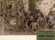 RUGGERO DEODATO CANNIBAL HOLOCAUST 1980 VINTAGE PHOTO ORIGINAL # 14