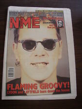 NME 1993 NOVEMBER 27 MORRISSEY JOHN LYDON LEFTFIELD GUNS N ROSES JACK DUCKWORTH