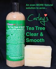 Natural Acne Solution Clear & Smooth TEA TREE      NO Benzoyl Peroxide