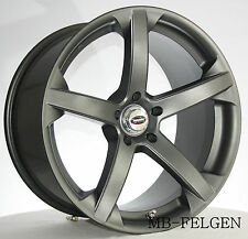 Rimstock Jade-R anthra. 8,5x19 Winterräder Michelin 225/35 Audi Mercedes VW Seat
