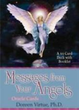 Messages from Your Angels by Doreen Virtue (2002, Cards,Flash Cards)