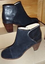 Wolverine 1000 Mile By Samantha Pleet black leather suede Demi Boot. Sz 5 MED