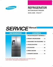 Samsung RF4267HARS RF4267HAWP RF4267HABP Service Manual Repair Guide