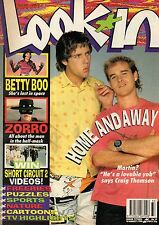 Look-In Magazine 18 August 1990     Betty Boo     Craig Thomson     Andre Agassi