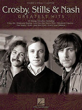 CROSBY, STILLS & NASH - GREATEST HITS GUITAR SONG BOOK