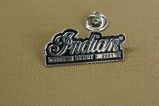 Indian Scout 1901-2001 Pin For Hats And Jackets, Show Off Your Motorcycle Pride!