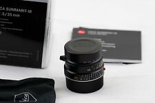 Leica Summarit-M 35mm f/2.5 E39 6-bit Lens in Black E 39 35/2.5 M6 Mp M9 M10 M24