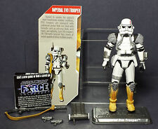 STAR WARS 30TH ANNIVERSARY HASBRO THE FORCE UNLEASHED IMPERIAL EVO TROOPER LOOSE