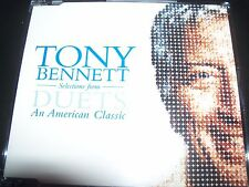 Tony Bennett Duets Rare Promo CD EP Bono (U2) KD Lang Michael Buble – Like New