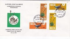Malta 1971 Birds First Day Cover Excellent Condition