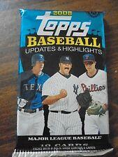 CLAYTON KERSHAW AUTOGRAPH RC?2008 TOPPS UPDATES&HIGHLIGHTS~1(ONE)HOBBY PACK~RARE