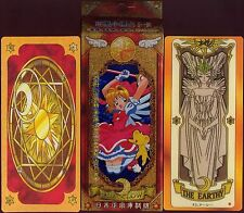 2008 CAPTOR SAKURA CLOW CARDS SET WITH BOX TAROT # 125