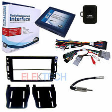 Radio Replacement Interface & 2-Din Dash Mount Kit  w/Onstar & Bose Retention