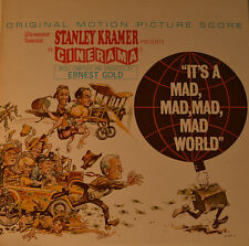 "OST - SOUNDTRACK - ITS A MAD, MAD, MAD, MAD WORLD - ERNEST GOLD  12"" LP (L418)"