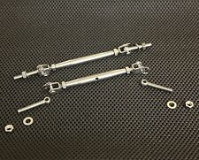 """STAINLESS TURNBUCKLE CLOSED BODY TENSION ASSY 1/4"""" MARINE GRADE M6 CB-TB-06-AY"""